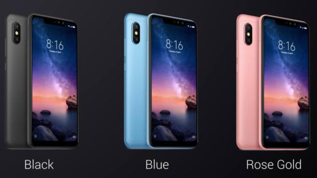 Xiaomi Redmi Note 6 Pro : quatre caméras, Snapdragon 636, et une belle encoche