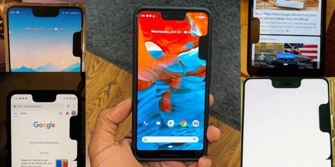 Google Pixel 3 XL – Un bug qui ajoute une seconde encoche sur le côté du téléphone