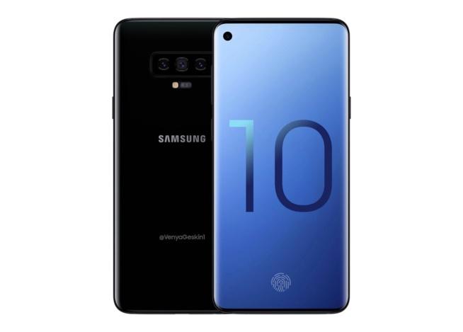 Samsung Galaxy S10 : petit trou dans l'écran (pas d'encoche), capteur d'empreintes à ultrasons…