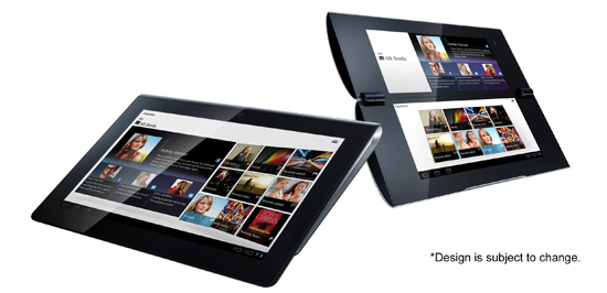 Sony Tablet S1 et Sony Tablet S2