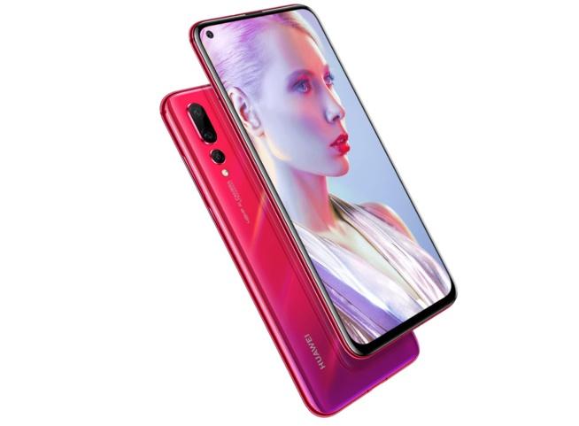Huawei annonce le Nova 4 avec un écran perforé et un appareil photo de 48 mégapixels