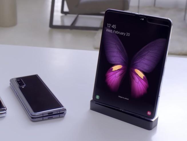 Samsung présente son téléphone pliable dans une vidéo de 4 minutes