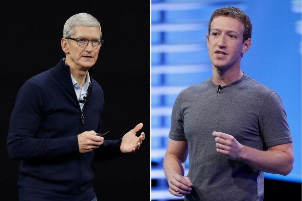 Mark Zuckerberg se joint à Tim Cook pour réclamer un RGPD version USA