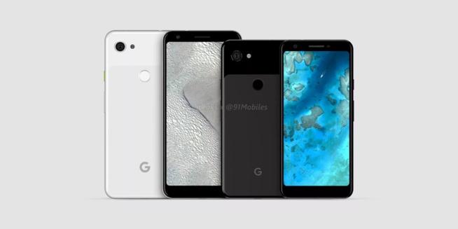 """Les Google Pixel 3a / Pixel 3a XL auraient une nouvelle couleur """"iris"""" et coûteraient environ 450€"""