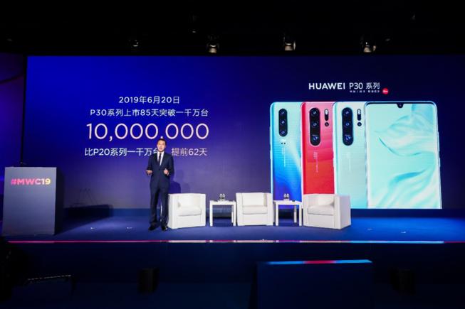 Malgré les sanctions américaines, Huawei affiche des ventes record