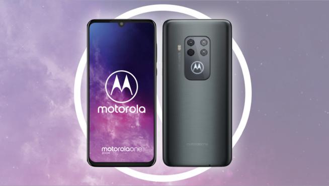 Quadruple optique pour le Motorola One Zoom