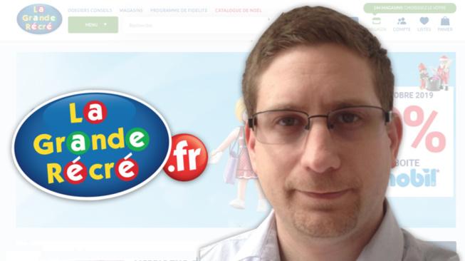 Cyril Lopez, LaGrandeRécré.fr : « Il est trop tôt pour que le mobile remplace le catalogue de Noël »