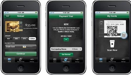 4 millions de transactions mobiles mensuelles chez Starbucks