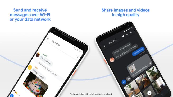 Samsung débute le déploiement du RCS dans son application de messagerie