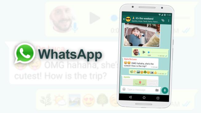 WhatsApp compte plus de deux milliards d'utilisateurs dans le monde