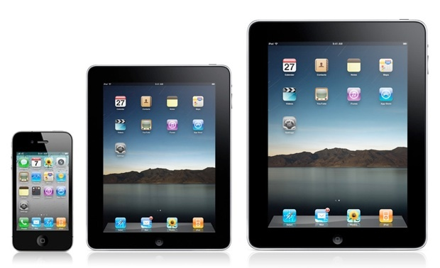 iPad mini entre iPhone et iPad