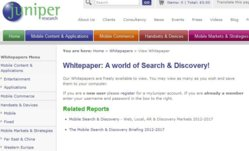A World of Search & Discovery! sur juniperresearch.com