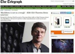 Thorsten Heins interview