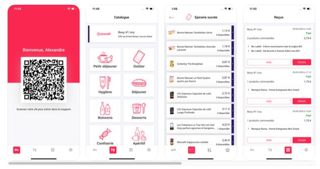 Avec Boxy, Storelift lance 2 premiers magasins autonomes en région parisienne