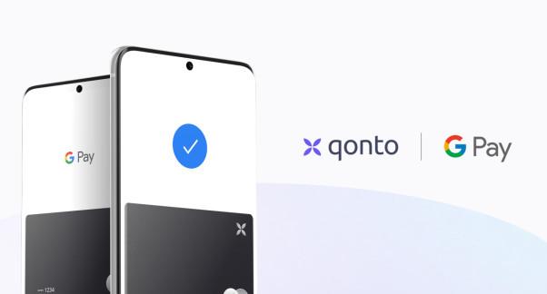 Paiement mobile : Qonto intègre Google Pay