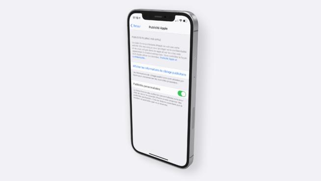 67% des utilisateurs iPhone ne savent pas qu'ils peuvent désactiver les publicités d'Apple