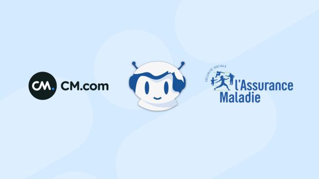Succès du déploiement par CM.com d'ameliBot, le chatbot de l'Assurance Maladie