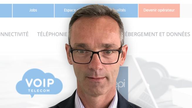 William Binet, Président chez VOIP Telecom