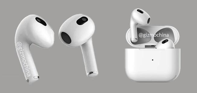 AirPods 3 : Annonce  avec l'iPhone 13 lors de la keynote d'Apple