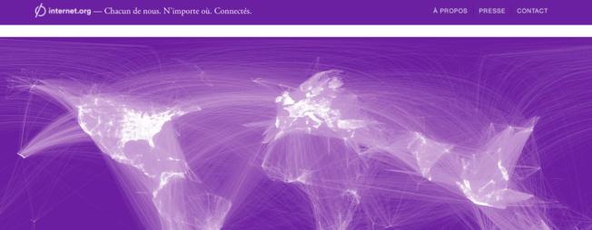 Zuckerberg veut un accès au net gratuit sur les mobiles