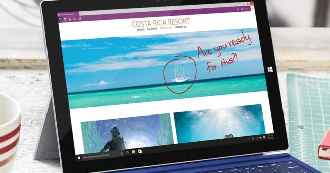 Plus de rapidité et de sécurité pour le nouveau navigateur de Microsoft