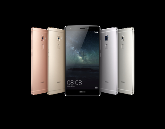 Huawei annonce officiellement le mate s avec la for Ecran dalle mate