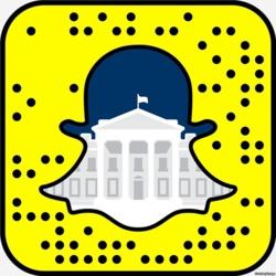 le snap code de la Maison Blanche