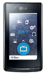 T80 : LG intègre la TNT à son baladeur multimédia