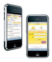 Les PagesJaunes disponibles sur l'iPhone