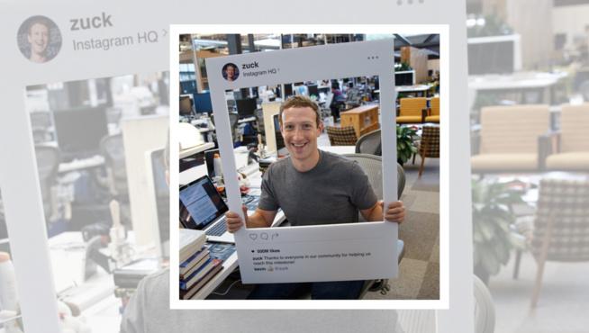 Mark Zuckerberg, Fondateur de Facebook et patron d'Instagram