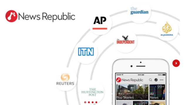 Cheetah Mobile rachète NewsRepublic pour 57 M$