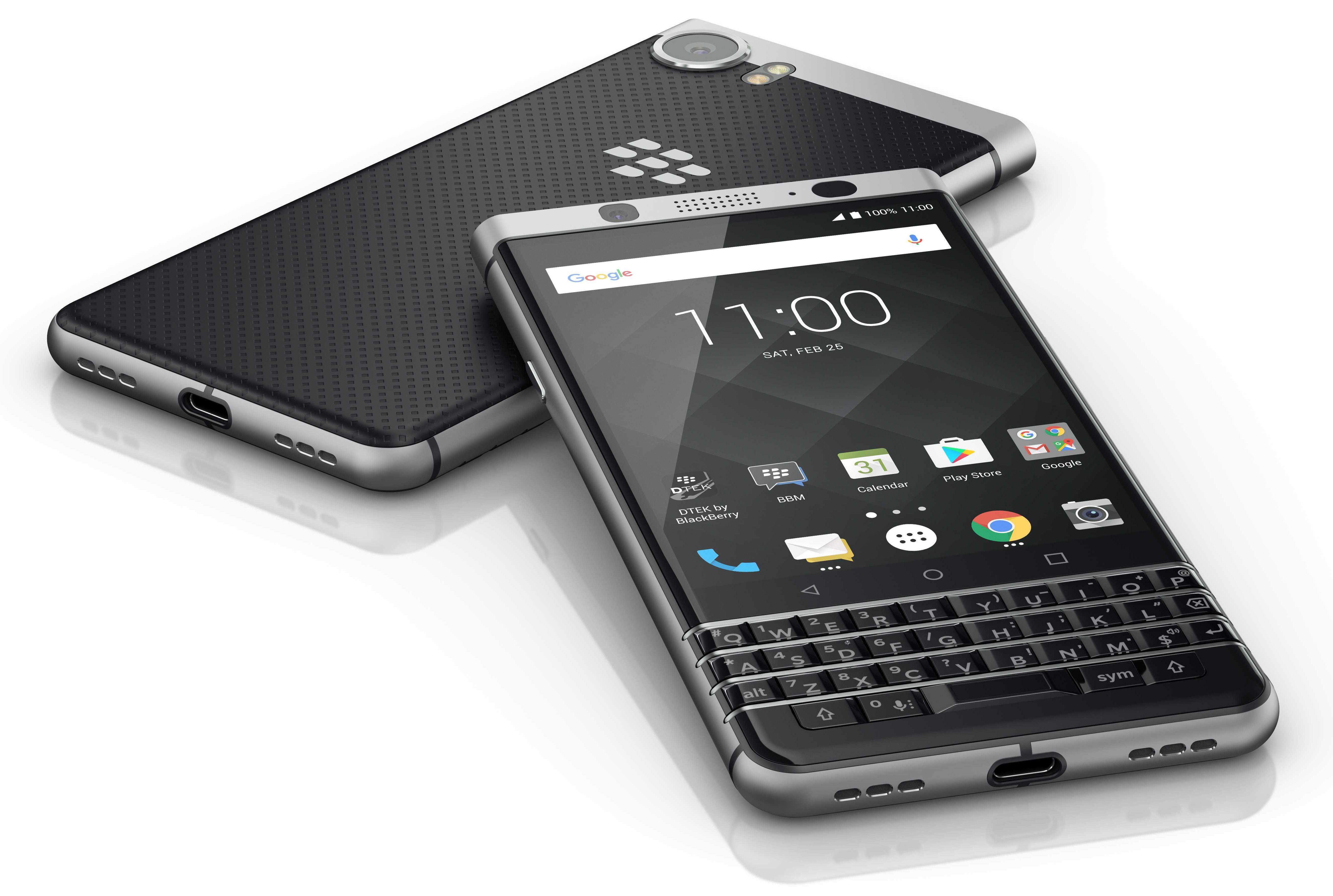 mwc 2017 tcl communication d voile son nouveau smartphone blackberry le keyone. Black Bedroom Furniture Sets. Home Design Ideas