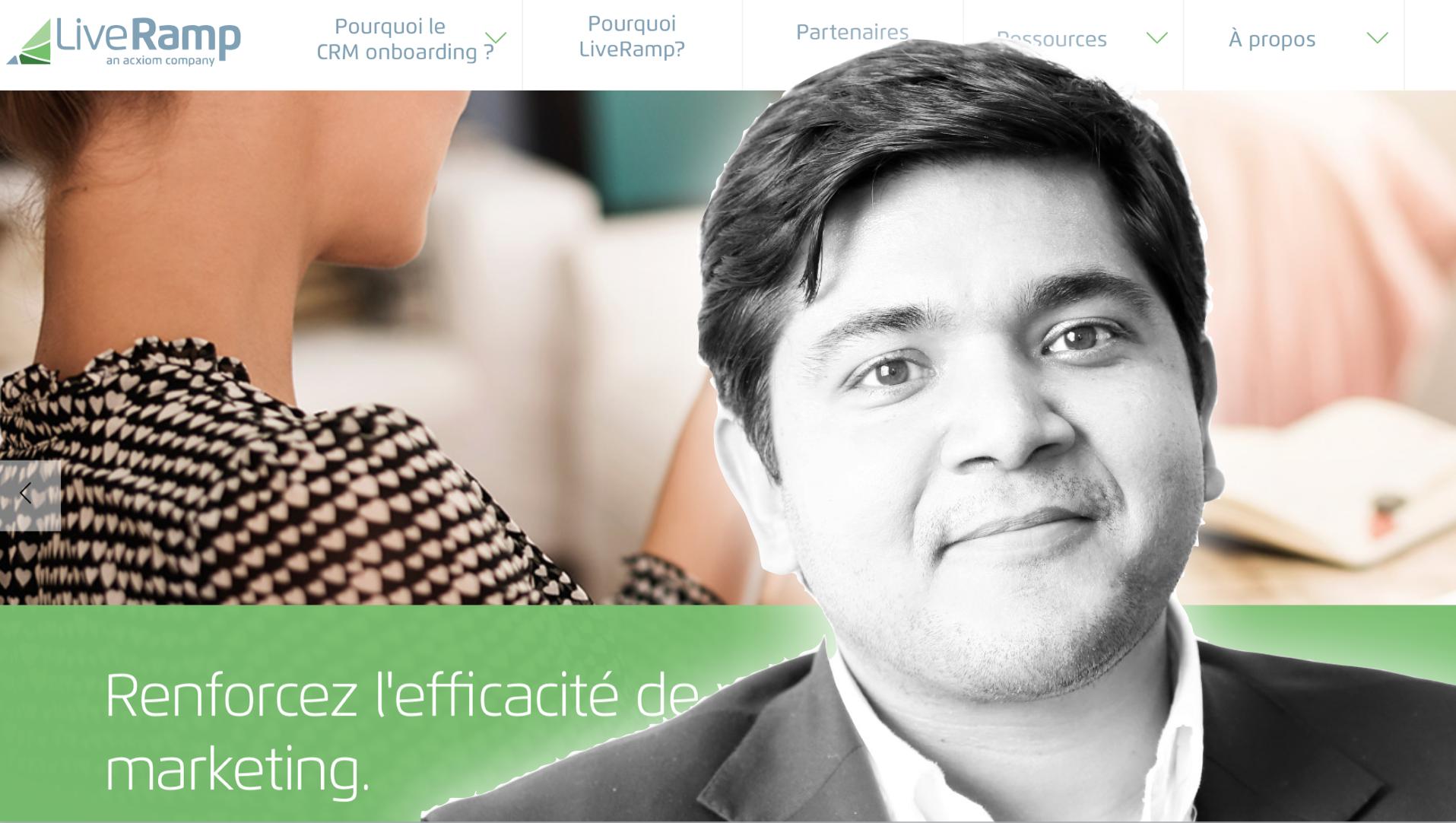 """Vihan SHARMA : """"LiveRamp permet de réconcilier l'ensemble des données d'un même consommateur"""""""