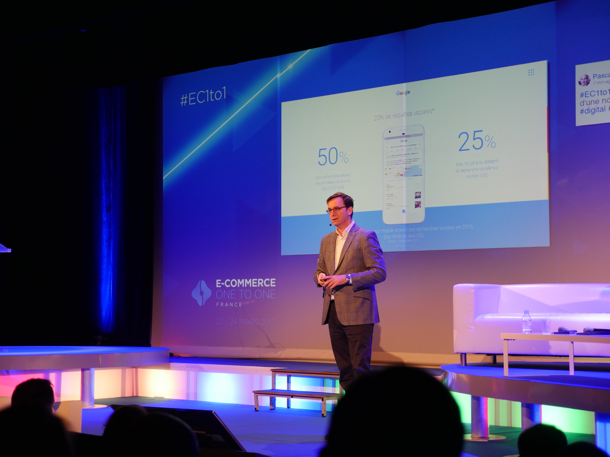 Guillaume Bacuvier, VP EMEA Platform Sales & Value-Added Services, chez Google