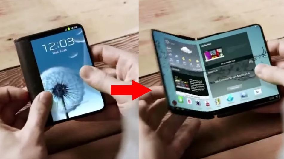 Rapport: Samsung prépare des milliers de prototypes de son smartphone pliable