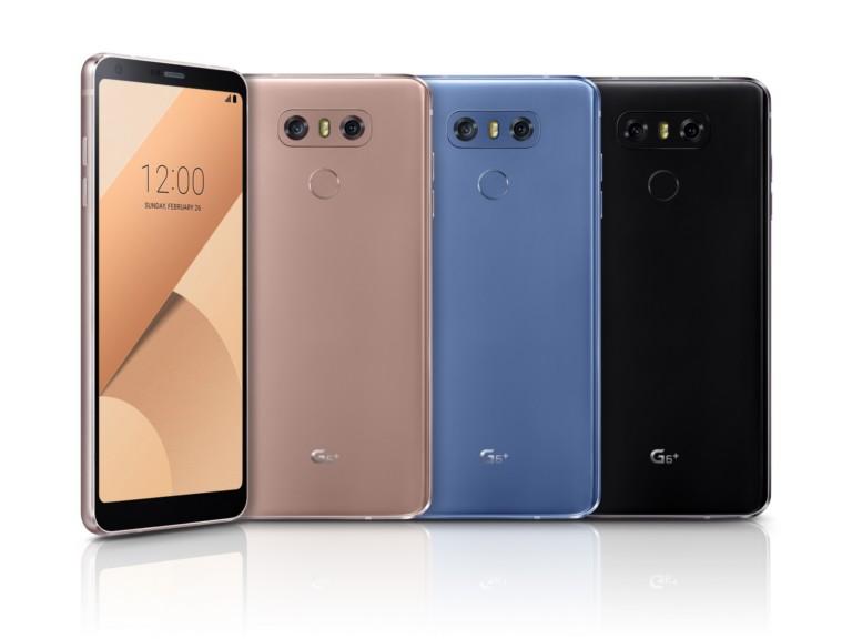 Voici le LG G6 Plus : 6 Go de RAM, 128 Go de stockage et de nouvelles couleurs