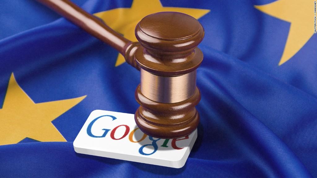 Une amende record de 2,42 milliards d'euros pour Google en Europe