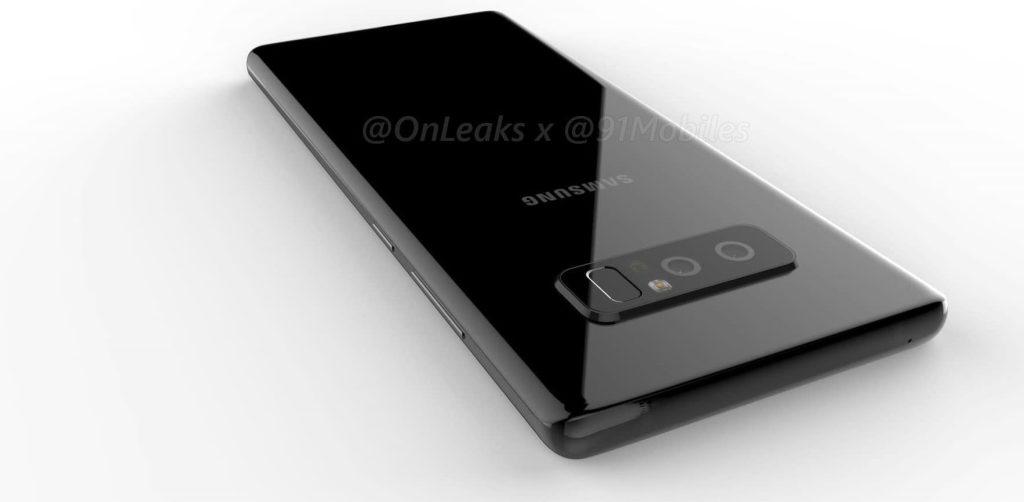 Les premières fuites du Galaxy Note 8 nous montrent un design familier