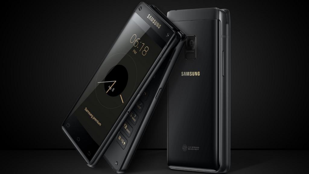 """Le nouveau smartphone à clapet """"Leader 8"""" de Samsung est officiel !"""