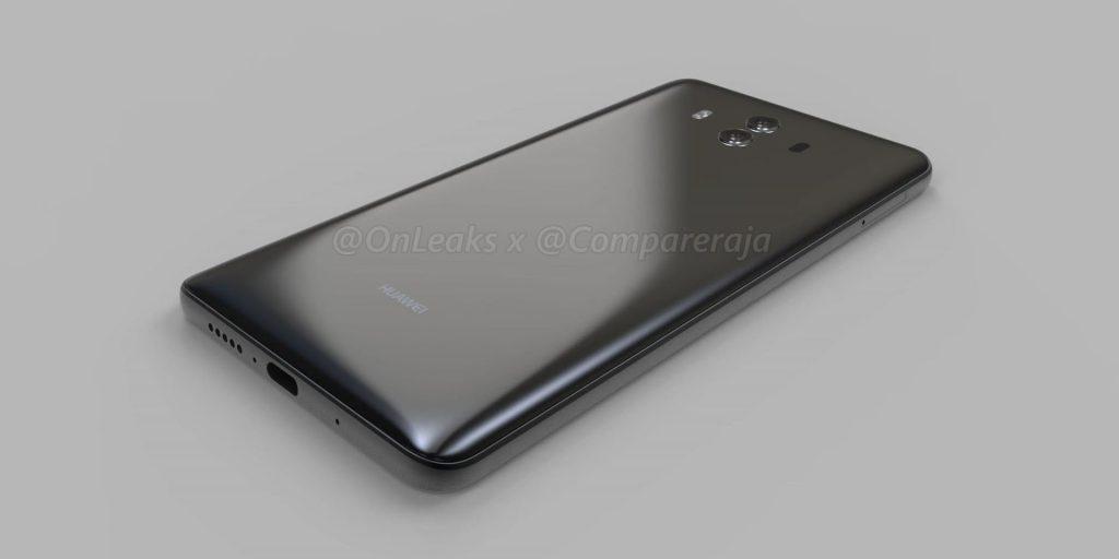 Huawei Mate 10 : Premières images avec capteur d'empreinte frontale et plus [Vidéo]