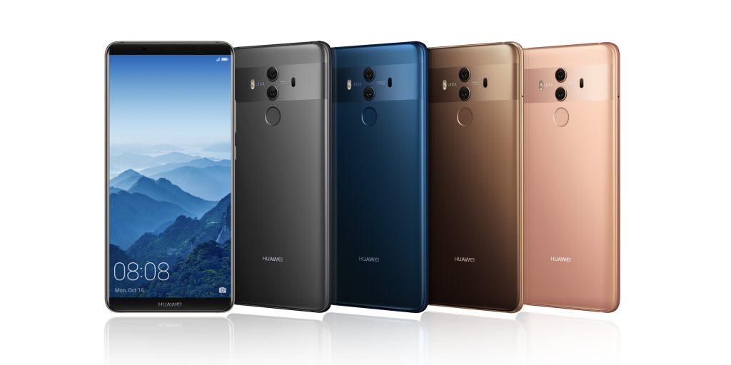 Les Huawei Mate 10 / Mate 10 Pro sont officiels avec un nouveau design en verre, Android Oreo…