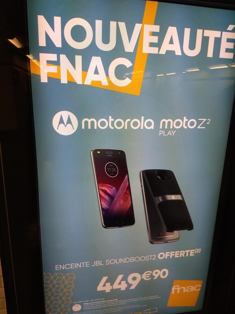 Fonctionnalités et usages : 3 mois avec le Motorola Moto Z2 Play (2/2)