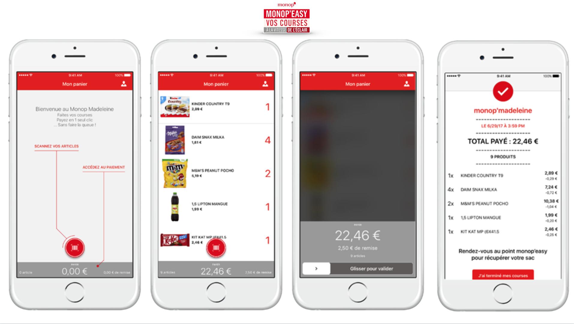 """Pierre-Marie Desbazeille, Monoprix : """"le client peut se servir de son smartphone pour scanner ses produits et payer en un clic"""""""
