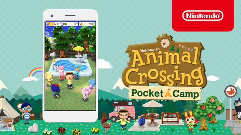 """""""Animal Crossing: Pocket Camp"""" - environ 15 millions de téléchargements en une semaine"""