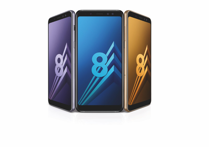 Le Samsung Galaxy A8 dévoilé avec deux capteurs frontaux, IP68, et plus