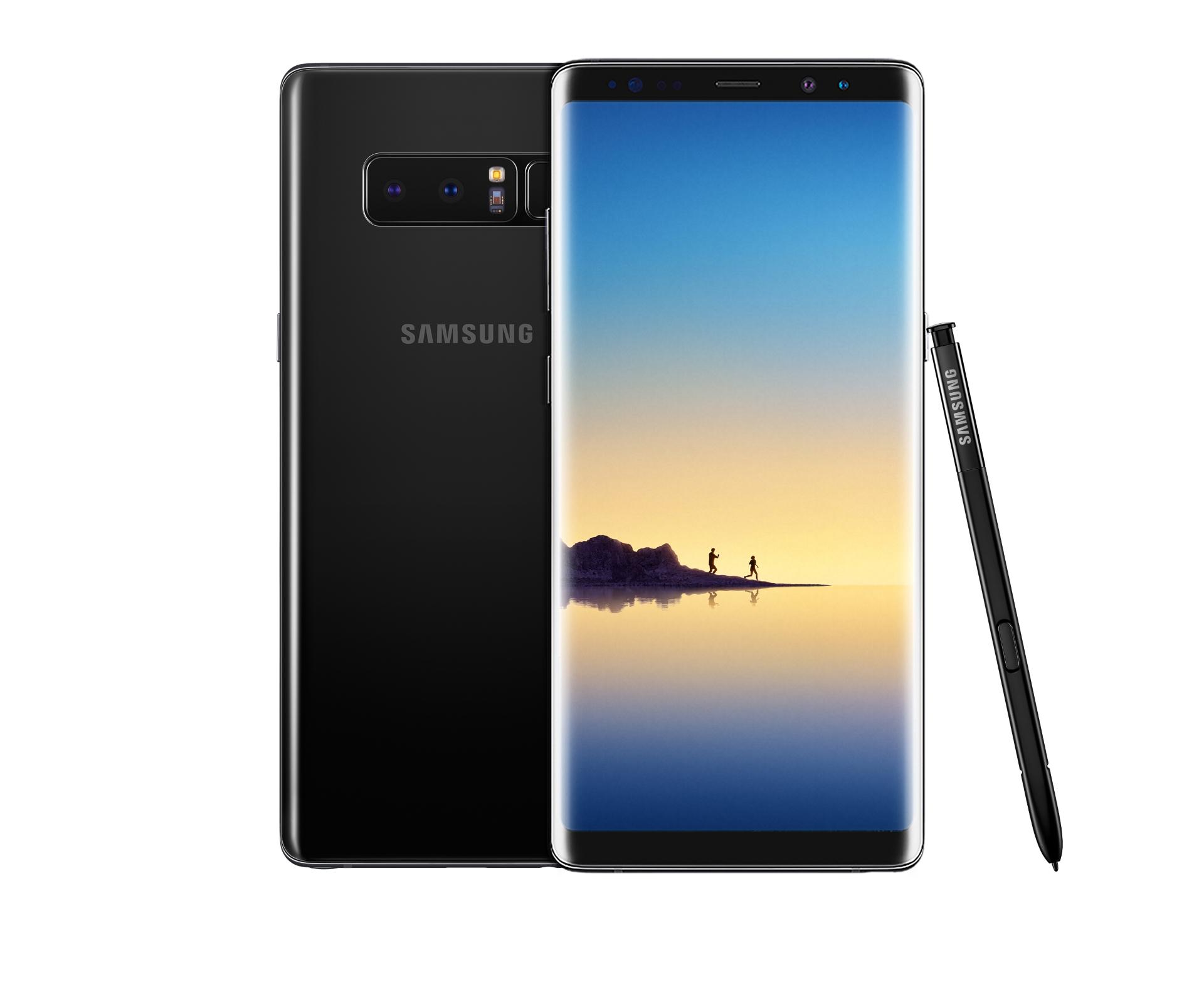 Le Samsung Galaxy Note 8 nommé Smartphone Phare de l'Année en Inde
