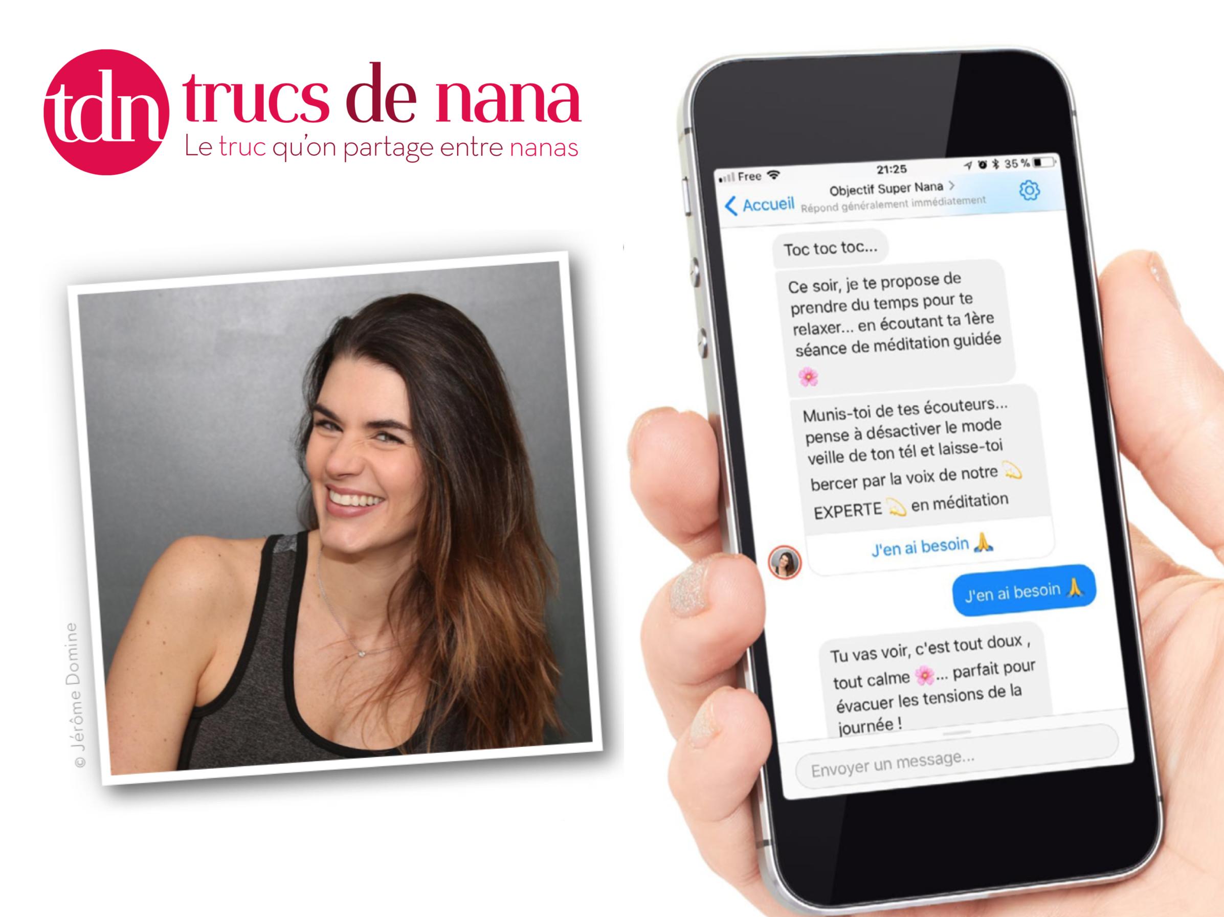 """TDN lance son chatbot fitness et """"mieux-être"""""""