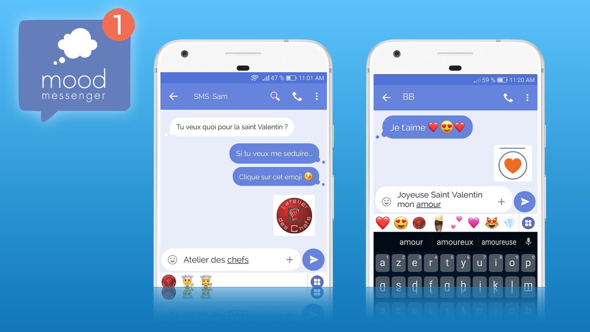 Mood Messenger séduit les marques avec ses formats publicitaires natifs