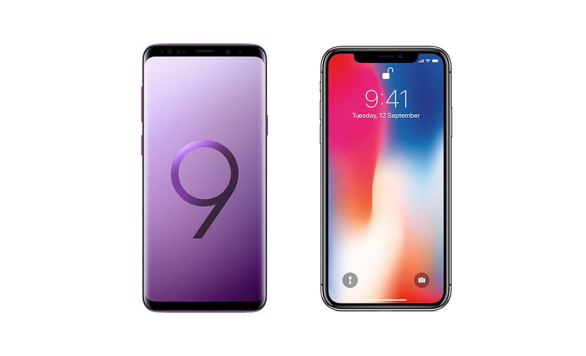 le galaxy s9 plus co te moins cher fabriquer que l 39 iphone x. Black Bedroom Furniture Sets. Home Design Ideas