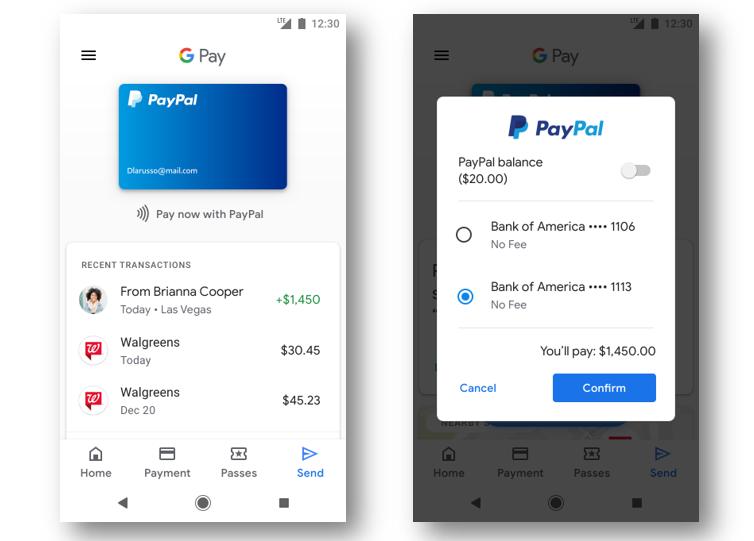 PayPal va s'intégrer davantage dans les services de Google